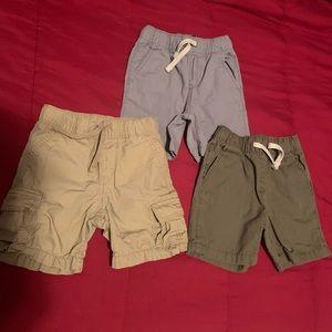 3 Gap/CP Toddle Boy Shorts, Size 2T